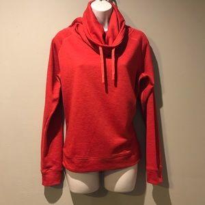 Nike Dri-Fit Red Pullover Sweatshirt, Small